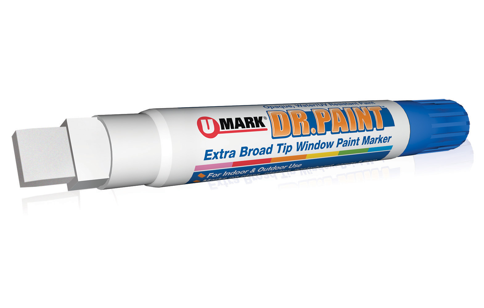 DR. PAINT™ Extra Broad Tip Window Paint Marker