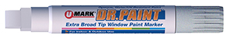 DR. PAINT™ Metallics Extra Broad Tip Window Marker