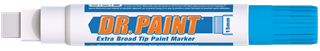 DR. PAINT™ Extra Broad Tip Window Marker
