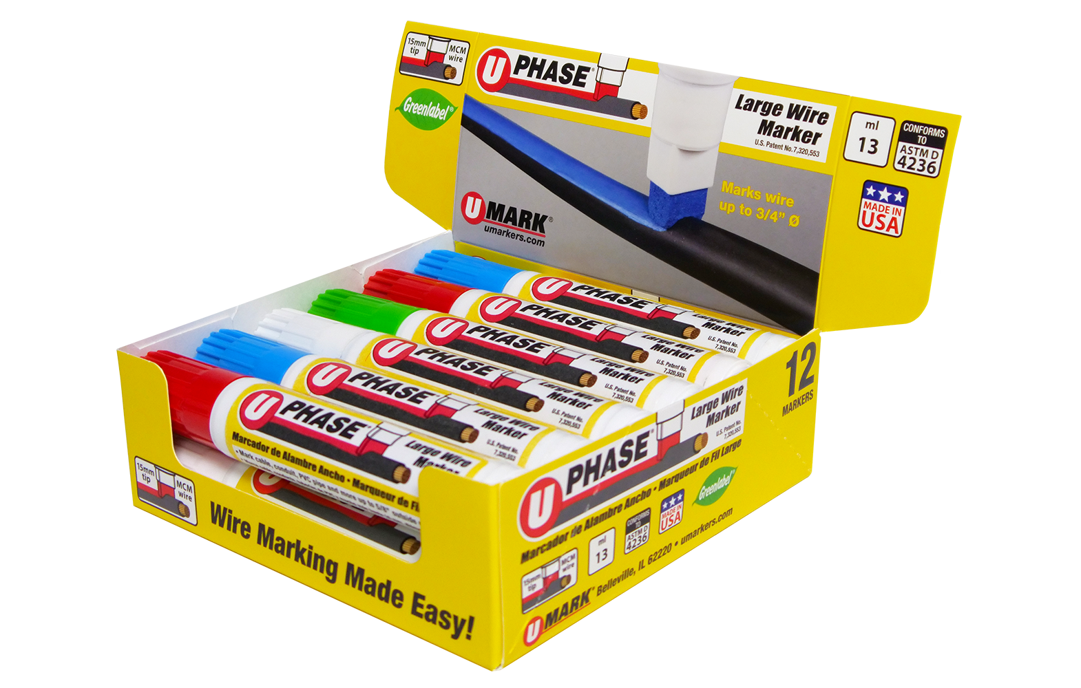 phase marker wire markers specialty