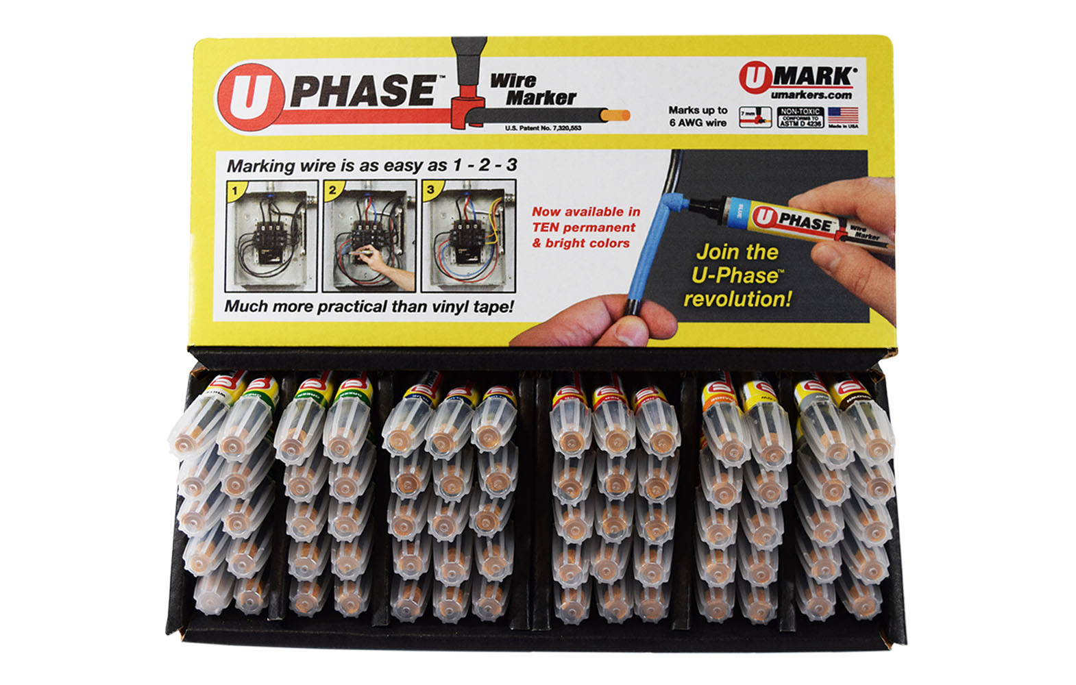 U Phase Wire Marker
