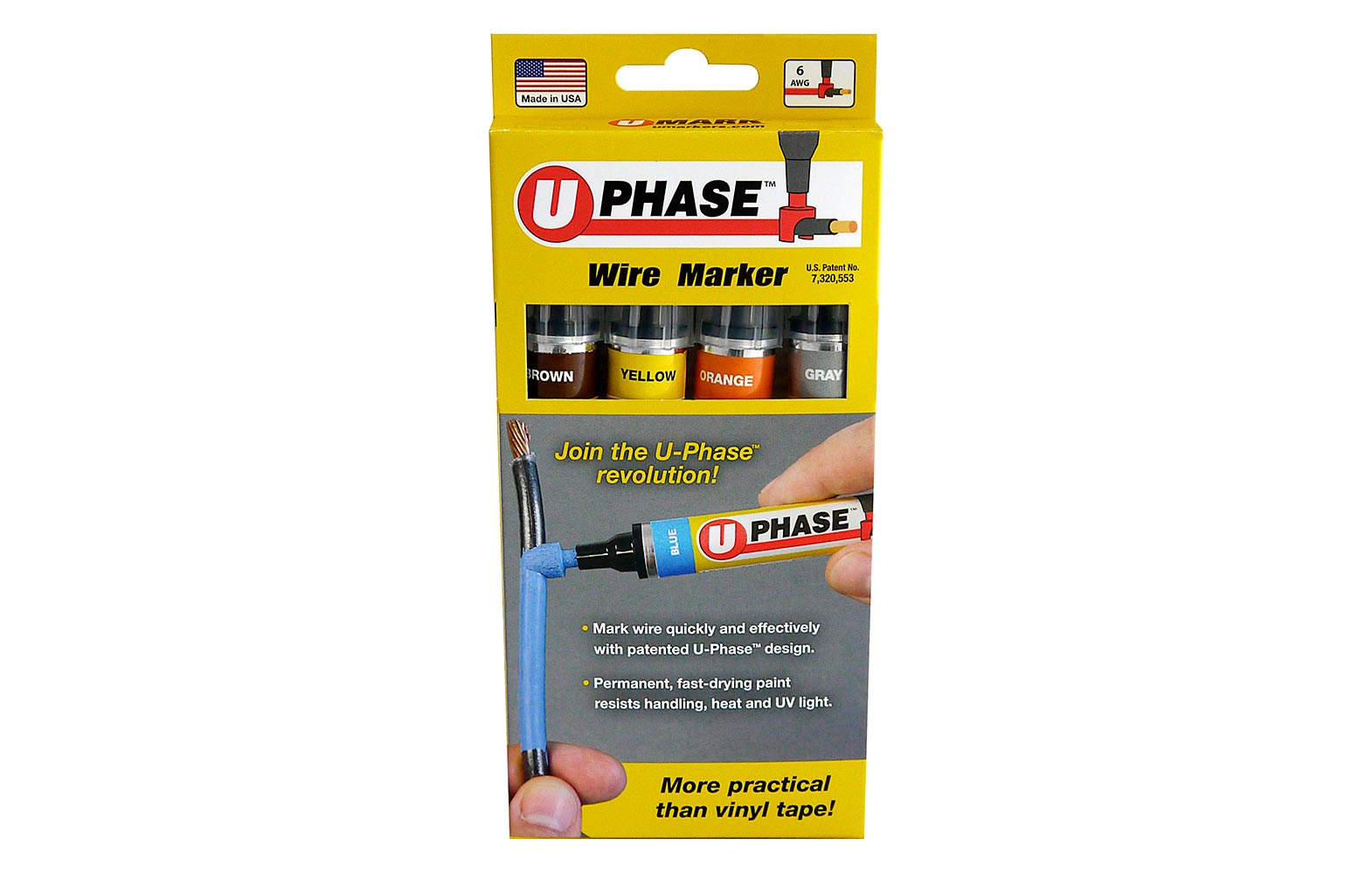 U Phase Wire Marker